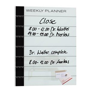 Tablica magnetyczna Artverum Weekly Planner