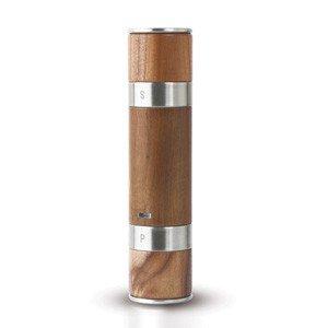 Młynek do pieprzu i soli podwójny Duomill drewniany