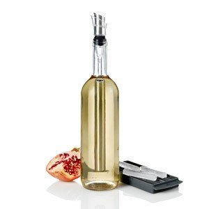 Wkład chłodzący z nalewakiem do wina w zestawie 6 funkcyjnym Icepour