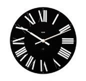 Zegar ścienny Firenze czarny - małe zdjęcie