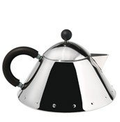 Dzbanek do herbaty MG33 czarny uchwyt - małe zdjęcie