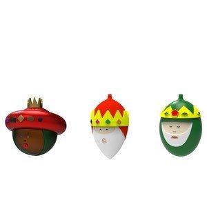 Bombki Palle Presepe 3 szt. Trzej Królowie