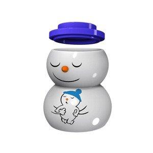Porcelanowa figurka i świecznik Snowdaddy