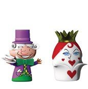 Porcelanowe figurki The Hatter & The Queen of Hearts