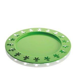 Taca okrągła Girotondo Poplike zielona