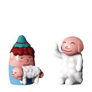Porcelanowe figurki Nello Pastorello & ciao ciao
