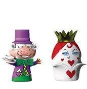 Porcelanowe figurki The Hatter & The Queen of Hearts - zdjęcie 1