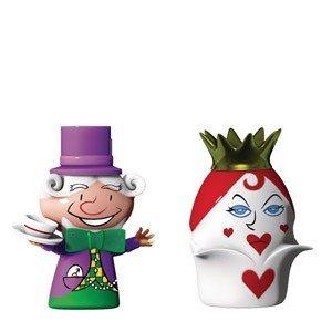 Porcelanowe figurki The Hatter & The Queen of Hearts