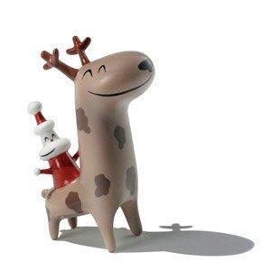 Porcelanowa figurka Christmas Cowboy