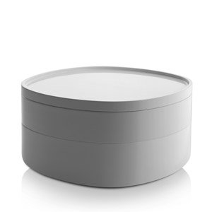 Organizer łazienkowy Birillo biały