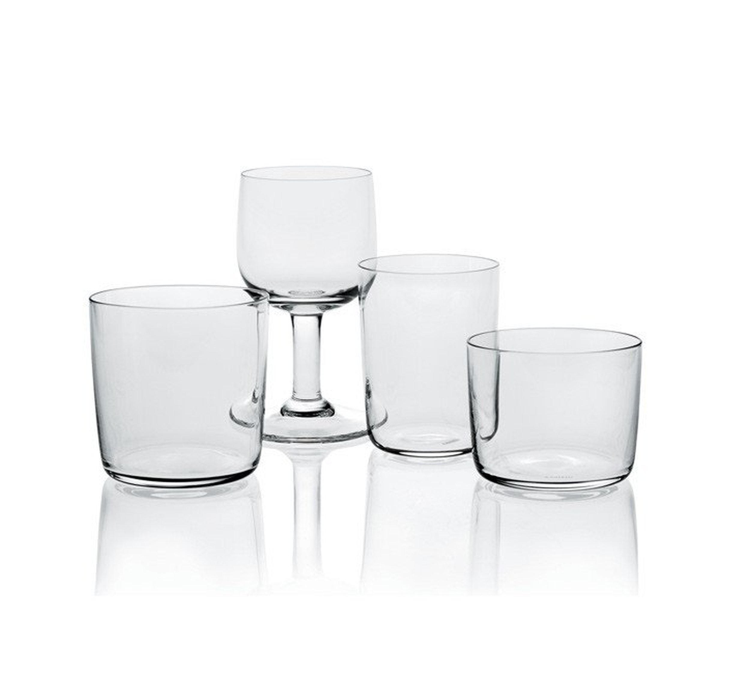 kieliszek glass family alessi ajm29 2 jasper morrison ff. Black Bedroom Furniture Sets. Home Design Ideas