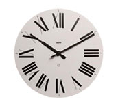 Zegar ścienny Firenze biały - małe zdjęcie