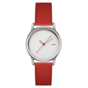 Zegarek l'orologio damski ze skórzanym paskiem