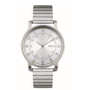 Zegarek l'orologio męski ze stalową bransoletą