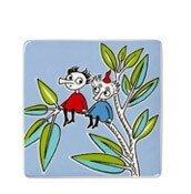 Płytka dekoracyjna Moomin Deco Tree Thingummy and Bob - małe zdjęcie
