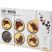 Formy do tartaletek Easy Baking 6 szt.