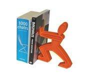 Podpórka do książek James pomarańczowa - małe zdjęcie