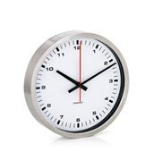 Zegar ścienny Era 24 cm biały - małe zdjęcie
