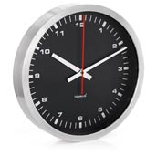 Zegar �cienny Era czarny