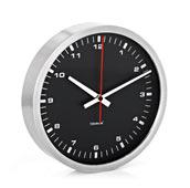 Zegar ścienny Era 30 cm czarny
