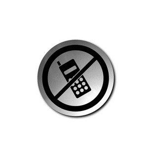 Szyld 'zakaz używania telefonów' Signo
