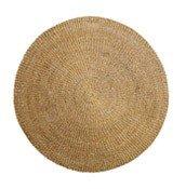 Dywan okrągły z trawy morskiej 200 cm - małe zdjęcie