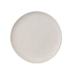 Talerz płaski Sandrine matowy brudna biel