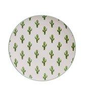 Talerz Jade 20 cm kaktusy