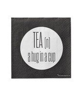 Serwetki Tea (n) a hug in a cup