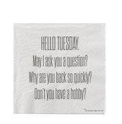 Serwetki Hello Tuesday - małe zdjęcie