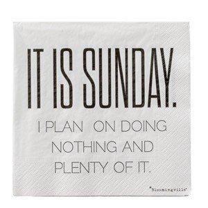 Serwetki It Is Sunday