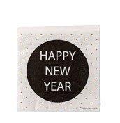Serwetki Happy New Year 20 szt. - małe zdjęcie
