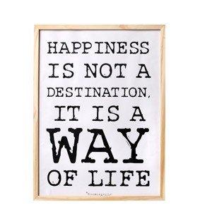 Plakat Happiness
