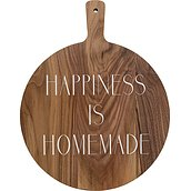 Deska do krojenia i serwowania Happiness is homemade