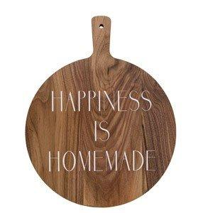 Deska do krojenia i serwowania Happiness is homemade