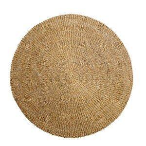 Dywan okrągły z trawy morskiej