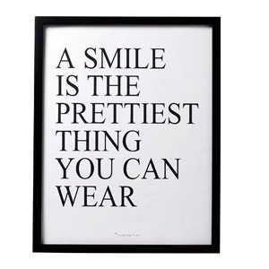Plakat A smile...