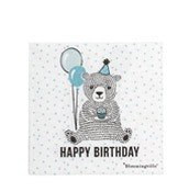 Serwetki Happy Birthday Bear