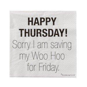 Serwetki Happy Thursday