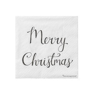 Serwetki Merry Christmas 20 szt.
