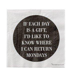Serwetki Monday
