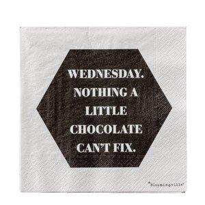 Serwetki Wednesday