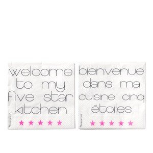 Serwetki Welcome