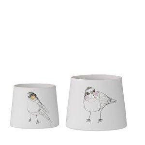 Świecznik na świece typu tealight Birds 2 szt.