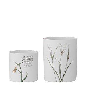 Świecznik na świece typu tealight Flowers 2 szt.