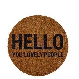 Wycieraczka Hello You Lovely People