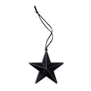 Zawieszka świąteczna Star metalowa