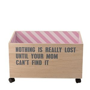 Pojemnik do przechowywania na kółkach Nothing is really lost...