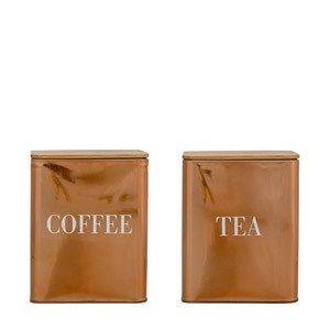 Pojemnik na kawę i herbatę 2 szt.