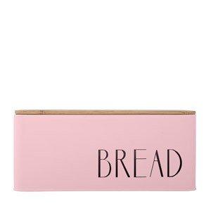 Pojemnik metalowy na pieczywo Bread z drewnianą pokrywką